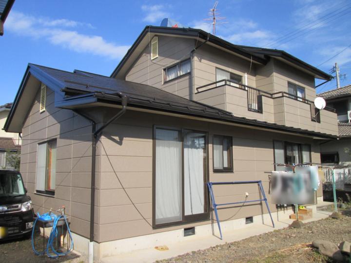 長野県 上田市 K様邸 外壁・屋根塗装工事