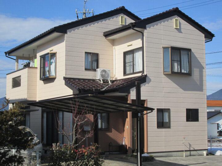 長野県 上田市 T様邸 外壁・屋根塗装工事