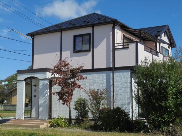 長野県 上田市 Y様邸 外壁・屋根塗装工事
