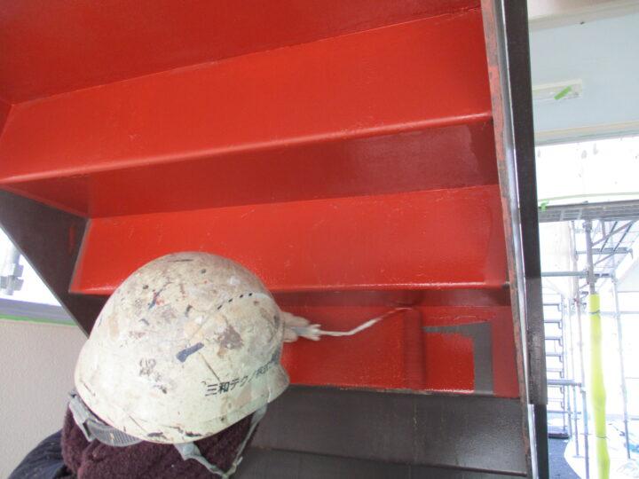階段裏【下塗り】