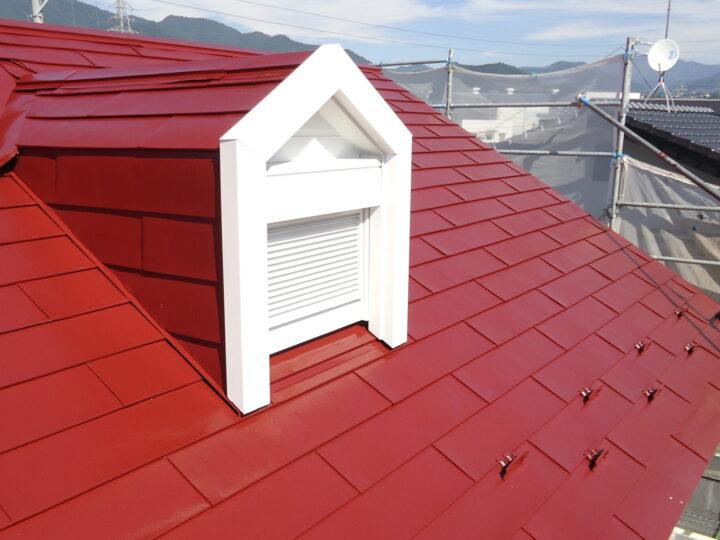 屋根【上塗り】