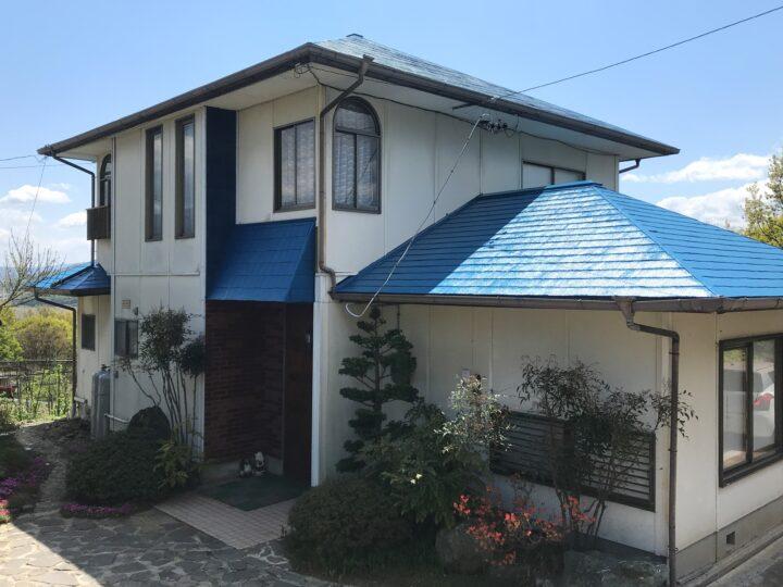 長野県 上田市 K様邸 屋根塗装工事
