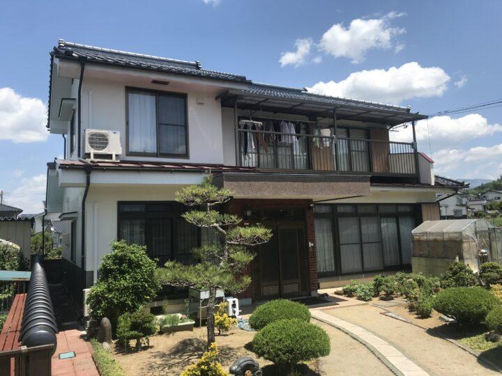 長野県 上田市 Y様邸 外壁塗装工事