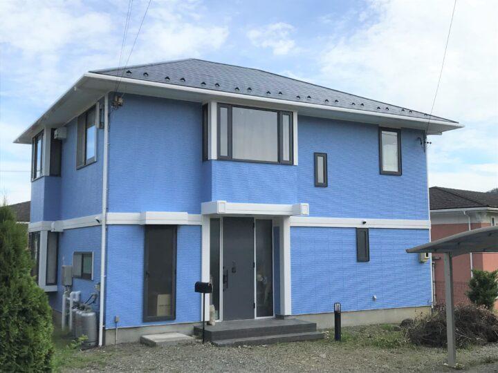 長野県 上田市 A様邸 外壁・屋根塗装工事