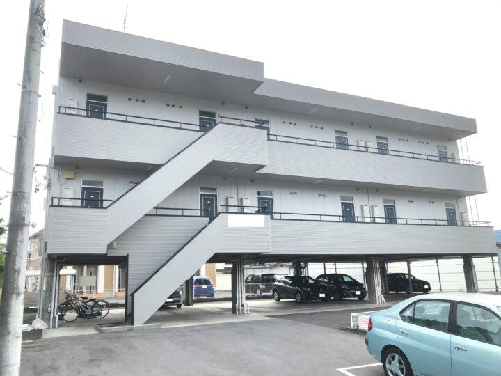 長野県 上田市 T様 アパート塗装工事