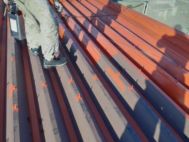 屋根塗装【下塗り】