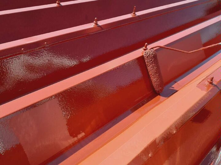 屋根塗装【上塗り】