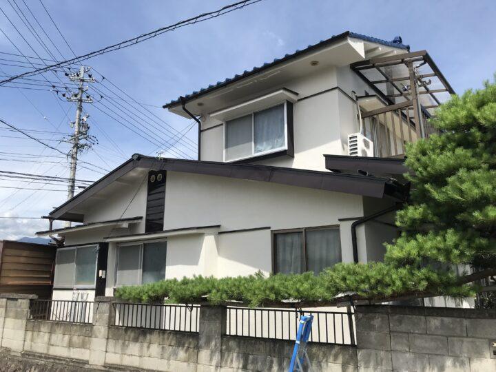 長野県 上田市 M様邸 外壁塗装工事