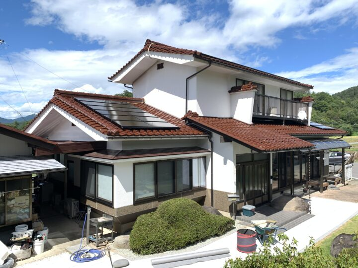 長野県 上田市 I様邸 外壁塗装工事